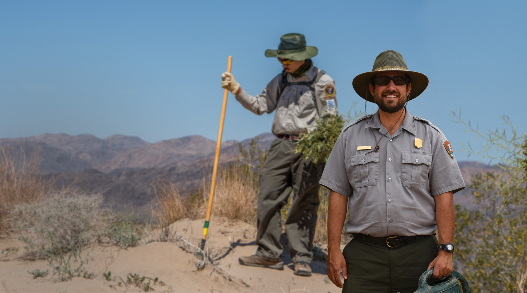 Rangers at Work on a National Park